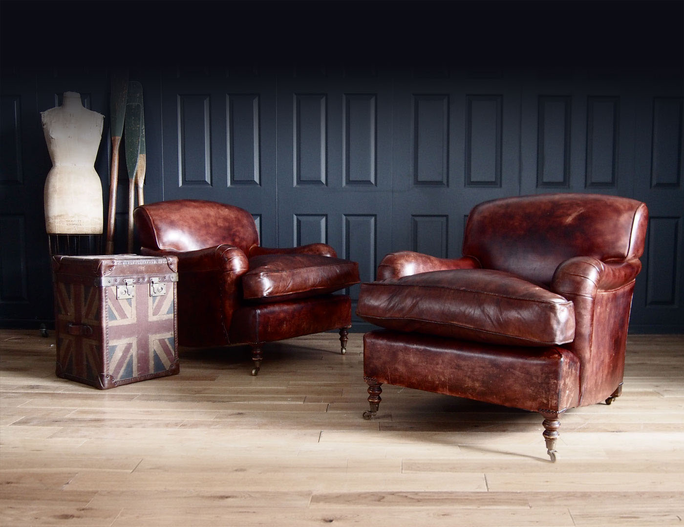 George Smith Vintage Signature Armchairs